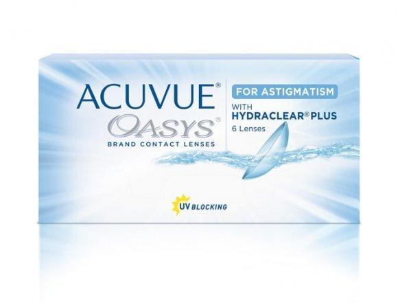 Acuvue Oasys with  Hydraclear Plus for astigmatism (6 шт) Подробности акции у администратора.